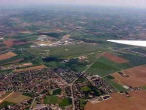 L' aérodrome de Corbas